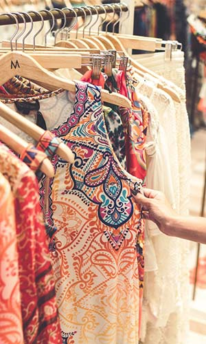Arara de Loja de Vestidos